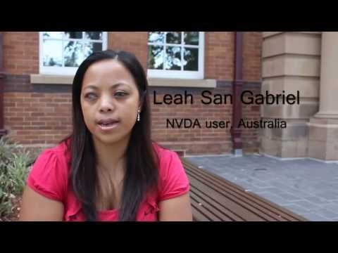 Testimonials for free screen reader NVDA