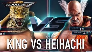 Tekken 7 - PS4/XB1/PC - King VS Heihachi (Character Gameplay)