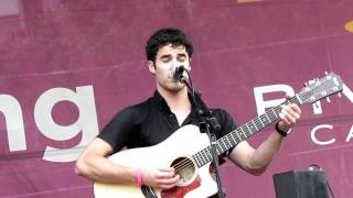 Chicago Darren Criss covers One Fine Day at Northalsted Market Days