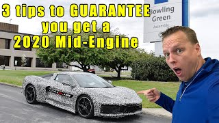 NEW Requirements to be a 2020 C8 Corvette Mid-Engine dealership.