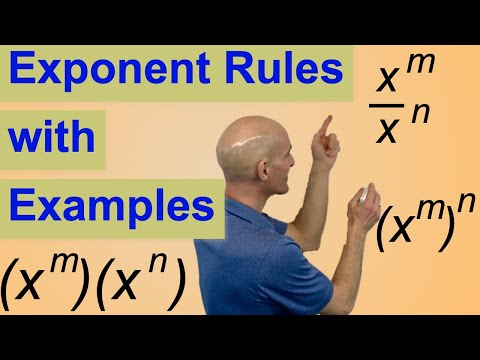 Exponent Rules With Examples