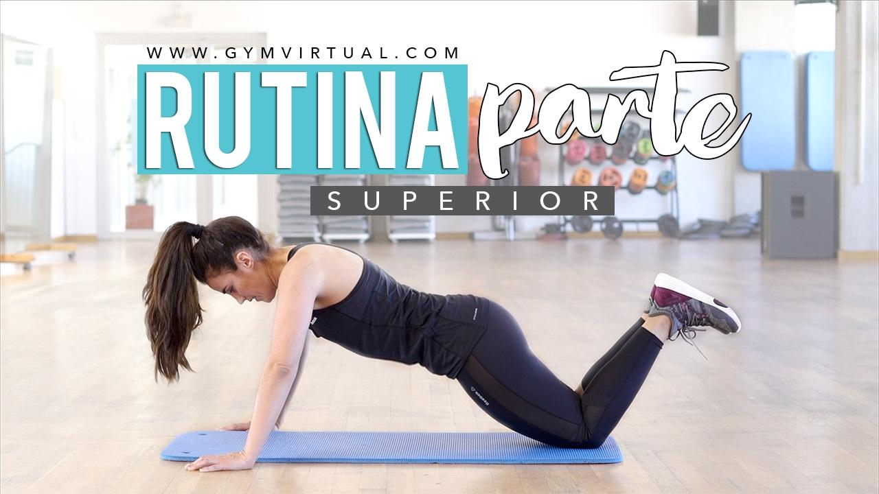 Rutina para fortalecer pecho y triceps