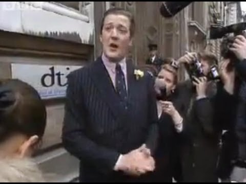 Hugh Laurie's News Flash - A Bit of Fry and Laurie - BBC