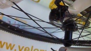Настройка (регулировка)  механического дискового тормоза(На примере Schwinn Rocket 3 ( http://velomoda.com.ua/catalog/mtb/schwinn-rocket-3-2014-charcoal-white.html) мы сделали обучающее короткое видео по., 2015-06-06T21:37:08.000Z)