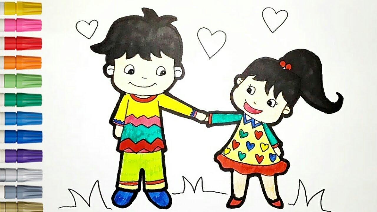 Wow 27+ Gambar Kartun Anak Laki Laki Untuk Diwarnai - Gani ...