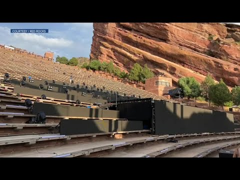 Red Rocks Concerts This Week Will Use A New Stage Youtube