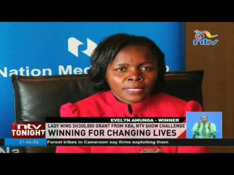 Lady wins Sh300,000 grant from KBA, NTV show challenge