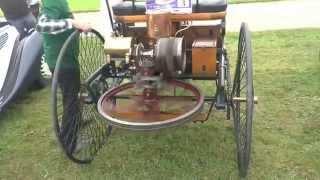 Первый автомобиль с двигателем внутреннего сгорания - Интересные факты