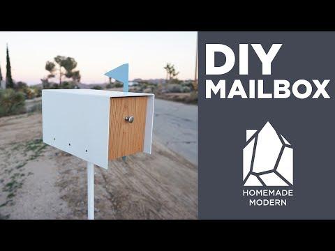 Making a Modern Mailbox
