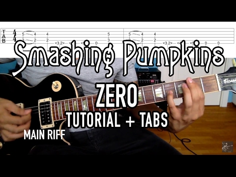 Zero - The Smashing Pumpkins (3 Min. Tutorial + Tabs)