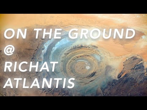 Evidence From The Ground That The Richat Structure Is Atlant