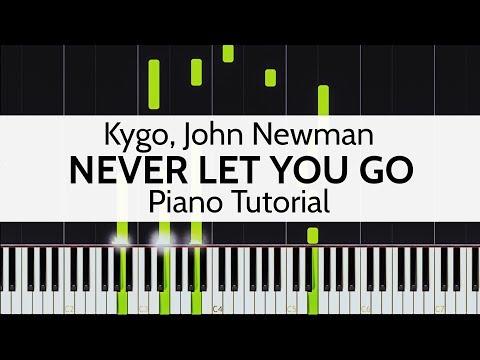 """Never Let You Go"" - Kygo, John Newman (Piano Tutorial) by Niko the Piano Man"
