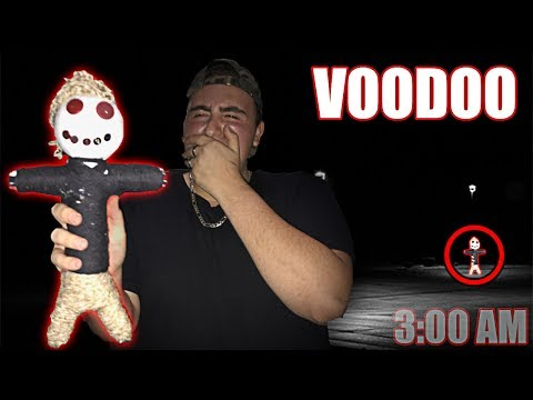 (DO NOT TRY THIS) DO NOT USE A REAL LIFE VOODOO DOLL AT 3:00 AM | THIS IS WHY | 3 AM VOODOO DOLL!!