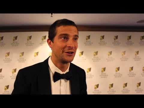 Bear Grylls at the Royal Television Society Programme Awards 2013 - 2014