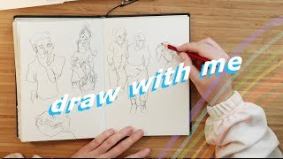 Draw with me, but DON