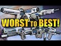 Destiny 2: WORST To BEST Trials of the Nine Weapons!