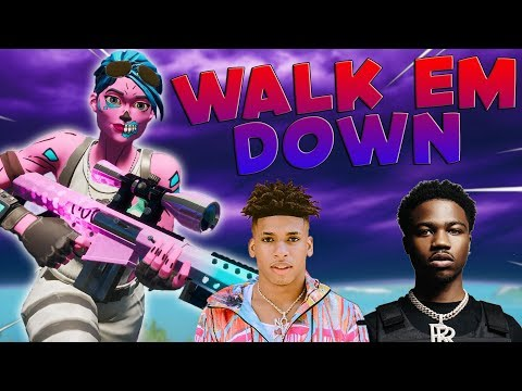 "Fortnite Montage – ""WALK EM DOWN"" (NLE Choppa & Roddy Ricch)"