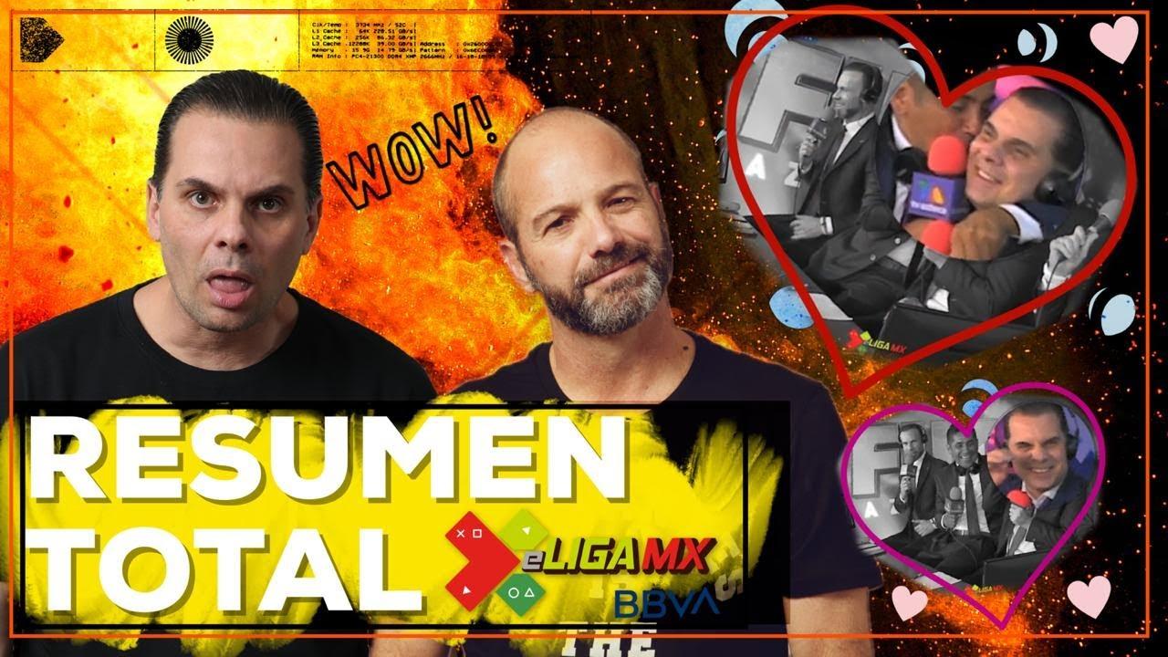 RESUMEN TOTAL. Lo mejor de la eLiga MX con Doctor García y Martinoli PARTE FINAL