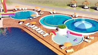 видео строительство открытых бассейнов одесса