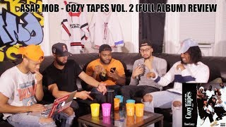 Asap mob - cozy tapes vol. 2 (full album) review/reaction