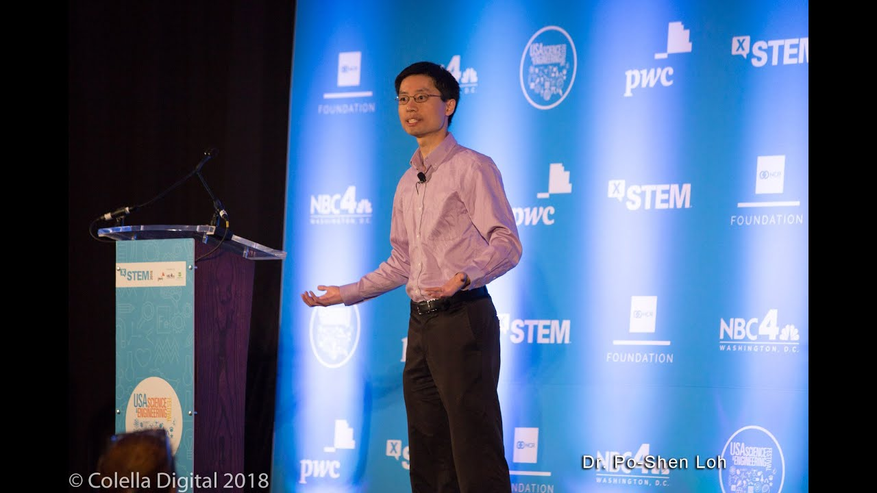How to Build a Thinking Society with Dr  Po-Shen Loh at the 2018 X-STEM  Symposium