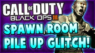 Black Ops 3 Zetsubou No Shima Zombies Glitches - SPAWN ROOM GODMODE Glitch!
