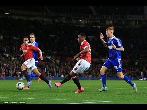 Manchester United Vs Ipswich 3-0 Capital One Cup [23/9/15] - All Goals HD-Andreas Pereira First Goal