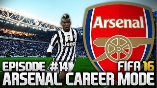 FIFA 16: ARSENAL CAREER MODE #14 - TOO MANY GAMES!
