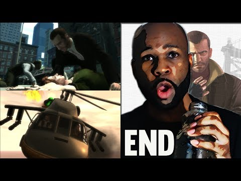 "Grand Theft Auto 4 Gameplay Walkthrough GAME ENDING - Out of Commission ""GTA 4"" ""GTA IV"""