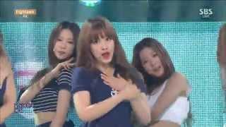 [60 FPS] [20150503] CLC (씨엘씨) _ Eighteen (에인틴) [SBS Inkigayo] [Live] [HD]