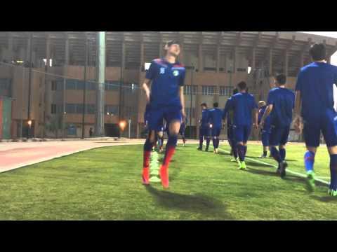 First training FC Bunyodkor in Ar Riyadh
