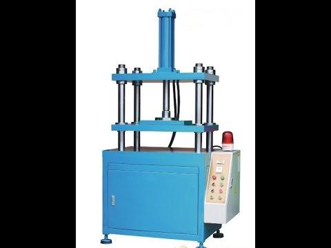 the 4 column hydraulic press machine, stamping machine for making bearing