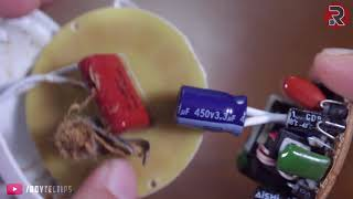 How To Fix Chinese Led Bulb Using a OLD CFL Bulb