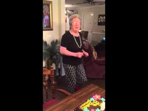 80 year old granny - 2 2
