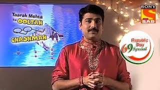 Republic Day Special 2018 - Taarak Talks About Incredible India - Taarak Mehta Ka Ooltah Chashmah