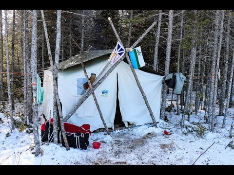 """NL Explorer: LIVING THE GOOD LIFE in my TRADITIONAL Canvas """"Labrador"""" Camp"""