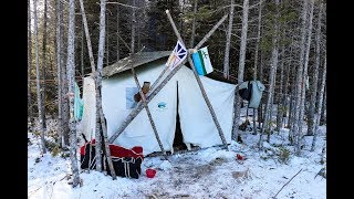 "NL Explorer: LIVING THE GOOD LIFE in my TRADITIONAL Canvas ""Labrador"" Camp"