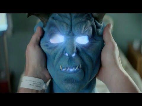 Daniel Cassidy becomes Blue Devil   SWAMP THING 1x09 [HD] Scene