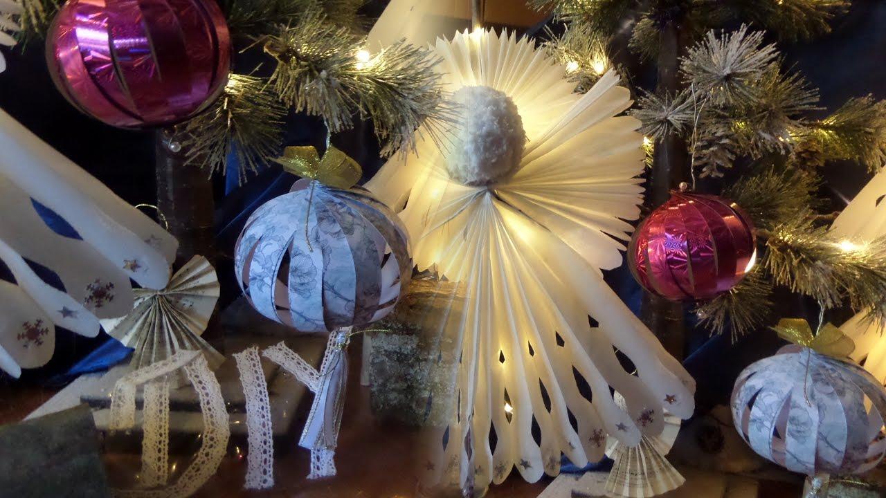 Weihnachtskugeln papier basteln ostseesuche com - Weihnachtsbasteln mit kindergartenkindern ...