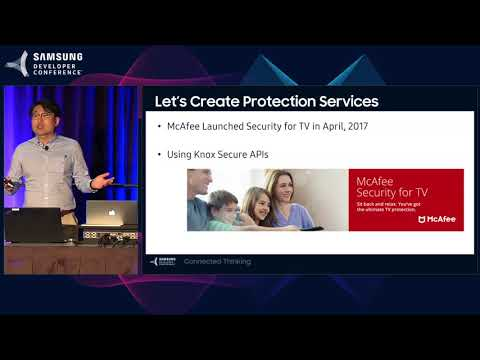 SDC 2017 Session: Maximize Your TV Services Using KNOX