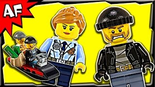 lego city police prison island starter set 60127 stop motion build review