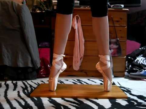 points, My first ballet shoes!