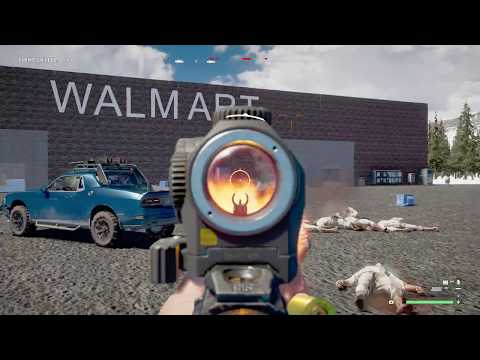 ZOMBIES OF WALMART! Far Cry 5 map editor