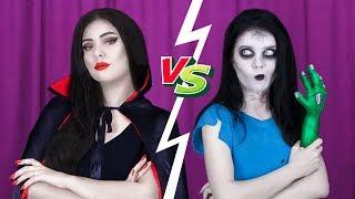 8 Pomysłów na Makijaż DIY Zombie kontra Makijaż DYI Wampira