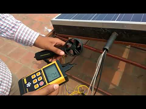 PERFORMANCE ANALYSIS OF AN AIR COOLED PV CELL IN SOLAR COLLECTOR