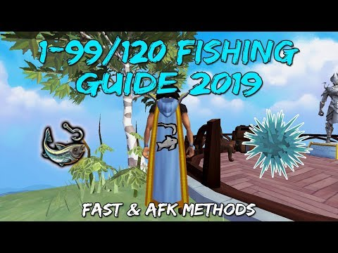 1-99/120 Fishing Guide 2019/2020 | Fast & AFK Methods [Runescape 3]