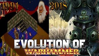 Graphical Evolution of Warhammer Fantasy (1991-2018)