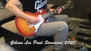 4 Gibsons Les Pauls vs ESP KH-2 comparison on Mesa Boogie Mark III