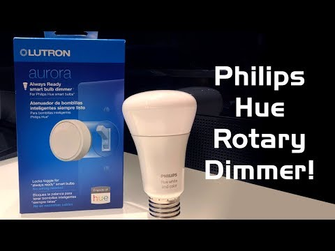 Lutron Aurora Philips Hue Dimmer Review