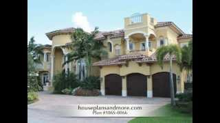 Spanish Style Homes Video 1 | House Plans And More